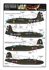 Kits World Decals 1/72 DOUGLAS A-20 HAVOC Mama Lou & Sweet Milk/Baby Doll