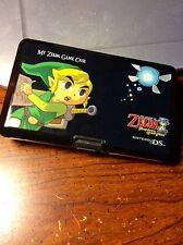 Nintendo DS Black Game Case The Legend of Zelda Phantom Hourglass 4307CLA