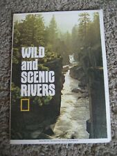 National Geographic Map, WILD and SCENIC RIVERS. 1977