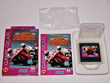 GP Rider Complete in Box for Sega Game Gear CIB **TESTED & WORKS GREAT**
