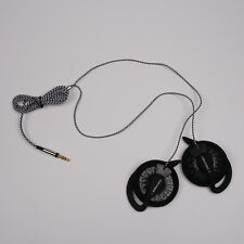 KOSS KSC35 Speakers with other Ear Clip High Quality Headphones Black Nylon Wire