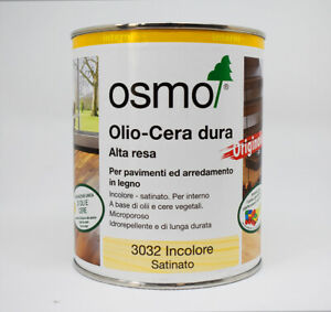 Osmo Olio-Cera Dura 0.750 L For Polishing Resin, Wood