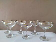 More details for vintage original set of six 1960's babycham glasses good condition
