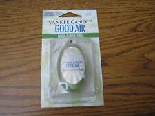 1 Yankee Good Air Small Space Auto Hanging Freshener Just Plain Fresh READ