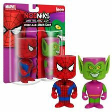 Funko Marvel Spiderman Green Goblin Wacky Wobbler Nodniks Pop Bobble Heads NEW