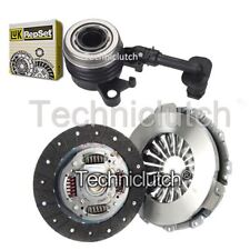 NATIONWIDE 2 PART CLUTCH KIT AND LUK CSC FOR RENAULT CLIO HATCHBACK 1.5 DCI 90