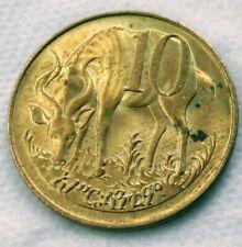 10 Cents 1969 EthiopiA