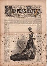 1877 Harpers Bazar January 20-Thomas Nast,Selborne U.K.