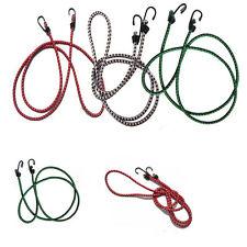 Elastic Bungee Cords Hooks Bikes Rope Tie Luggage Car Strap Roof Rack 1.5m B0