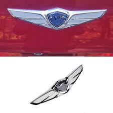 Genuine OEM Genesis Trunk Rear Wing Emblem (Fits: HYUNDAI Genesis 2017+ G80)