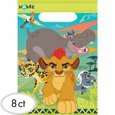Lion Guard Party Supplies LOOT BAGS Favour bags Lolly Bags Pack Of 8