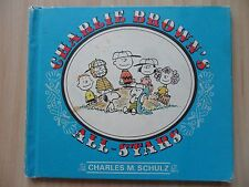 CHARLIE BROWN'S ALL-STARS~Charles Schulz~1966 1st HC~Peanuts~SNOOPY~LUCY~LINUS~