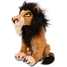 "Authentic Disney Store Lion King Villain Scar Plush 15"" Soft Stuffed Animal NEW"