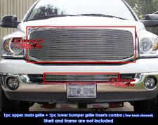 Fits Dodge Ram Pickup Billet Grille Combo 06-08