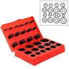407Pcs Car Rubber O Ring Seal Plumbing Garage Kit With Case O-Ring Washer Seals photo