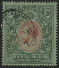 East Africa & Uganda, Used, #54Var, Dull Green, Clean, Great Centering