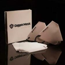 Copper Mask face mask  by Jc premiere with 10 filters included ON HAND Original