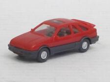 Ford Sierra XR 4i in orangerot, o. OVP, Wiking, 1:87