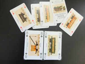 2x55 Rummy Cards Playing Cards Canasta Bridge Eisehnen Trains Collection
