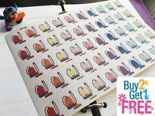 PP123 -- Small Vacuum Planner Stickers for Erin Condren (50pcs) BUY2GET1FREE