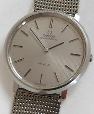 Vintage Omega De Ville Automatic Watch. Circa 1973. Cal. 711 24 Jewels. SS Band.