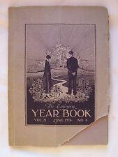 1924 LAFAYETTE HIGH SCHOOL YEARBOOK BUFFALO, NEW YORK
