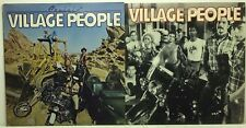 Village People LP Vinyl Record Album Lot: Self Titled + Cruisin' YMCA Y.M.C.A.