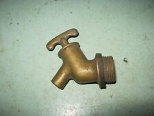 VINTAGE BRASS TAP FOR PARAFIN DESPENCER stationary engin  ECT