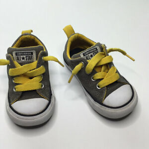 Converse Gray Sneakers Size 6