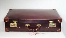 Shabby chic - Antiker Lederkoffer Vintage Deko Oldtimer Leder Koffer 1900 - 20