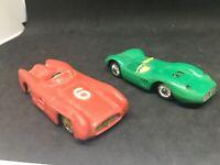 Norev lot Maserati sport 200/SI #1 ,  Mercedes competition #6 1/43 original