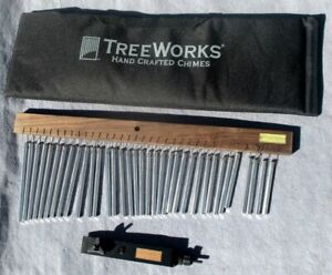 Treeworks TRE 35 Chime Single Row 35 Bars with Mounting Bracket amd Carry Bag