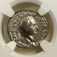 Roman Empire Vespasian, AD 69-79 NGC VF ***Rev Tye's Stache*** #3180200