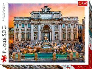 TREVI FOUNTAIN ROME 500 PCS JIGSAW PUZZLE