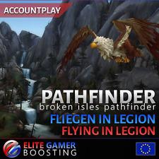 [EU] WoW Legion Pathfinder Pfadfinder der verheerten Inseln Flying in Legion