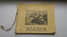 X/RARE! 1910 Book ALASKA Illustrated LOWMAN & HANFORD Albertype Prints GOLD RUSH