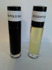 LOT OF 4 FRAGRANT BODY OILS 1/3oz ROLL ON UNCUT & PURE  **FREE SHIPPING**