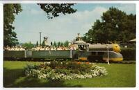 KENNYWOOD PARK~MINIATURE TRAIN,RAILROAD RIDE-PITTSBURGH,PA