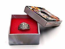 One Piece Whitebeard Pirates Edward Newgate Logo Metal Finger Ring Cosplay Gift