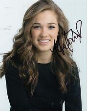 Haley Lu Richardson signed *RAVENSWOOD* Tess Hamilton 8X10 photo W/COA #1