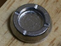 Dolls House Miniature 1/12th Scale Silver Coloured Ashtray OA145