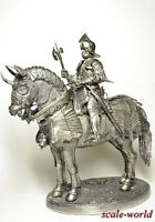 Tin soldier, miniature. Knight 90 mm