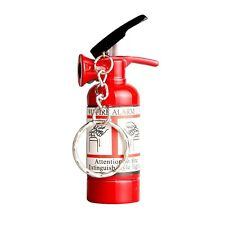 Mini Fire Extinguisher Style Butane Lighter NO GAS