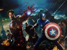 Robert Downey Jr. Chris Evans Signed 8x10 Photo Picture Autographed Pic
