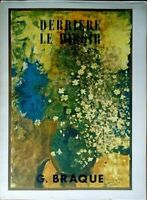 Derriere le miroir n. 48-49, Georges Braque, 1956, Maeght editeur