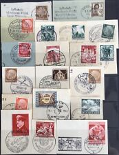 Germany Third Reich 1933-1943 issues on Paper Used