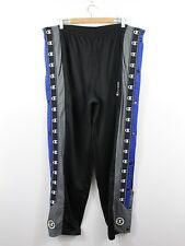 H45 Vtg Champion 90s Pant Trouser Pant Black Grey Popper Basketball Size XL