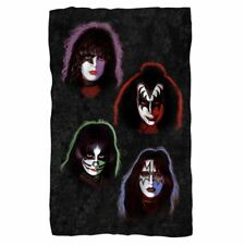 KISS FLEECE BLANKET OFFICIAL 2016