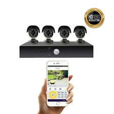 Yale Smart HD1080 CCTV System 4 Camera 8 Channel 2TB Harddrive - BRAND NEW