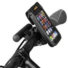 Ibera Bike Waterproof Handlebar Phone Case Cycling Mini Bar Mount NEW PB11Q2-BK